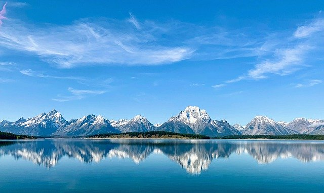 Wyoming Grand Teton Teton Landscape